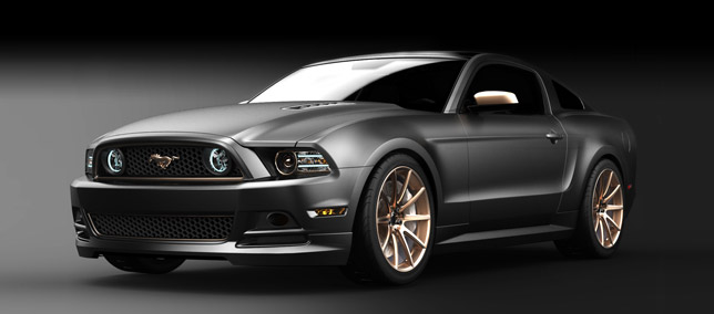 High Gear SEMA Ford Mustang Concept
