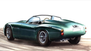 icon aston martin db4 gt zagato volante: a modern interpretation