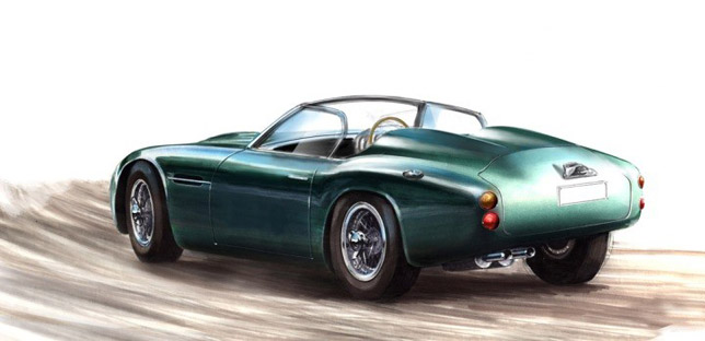 The Reimagined Icon Aston Martin DB4 GT Zagato Volante