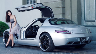 inden design mercedes-benz sls amg: where fashion and tuning meets