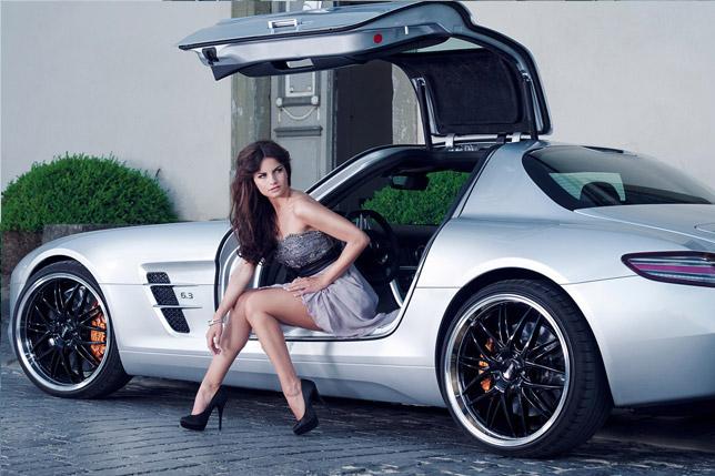 Inden Design Mercedes-Benz SLS AMG and Katja Runiello