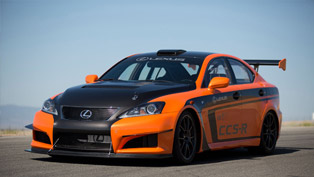 LEXUS IS F CCS-R to race in Pikes Peak International Hill Climb