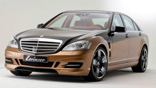 lorinser mercedes-benz s70 with power kit