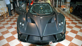 Pagani Zonda R Evo official debut at 2012 Goodwood Festival of Speed