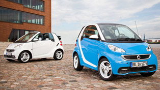 smart fortwo iceshine edition in coupe and cabrio