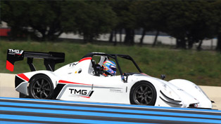 Toyota TMG EV P002 Races to the Clouds