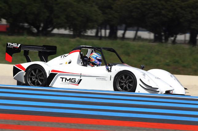 Toyota TMG EV P002 Electric Racecar
