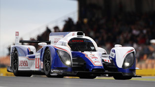 Toyota TS030 Hybrid at the Le Mans