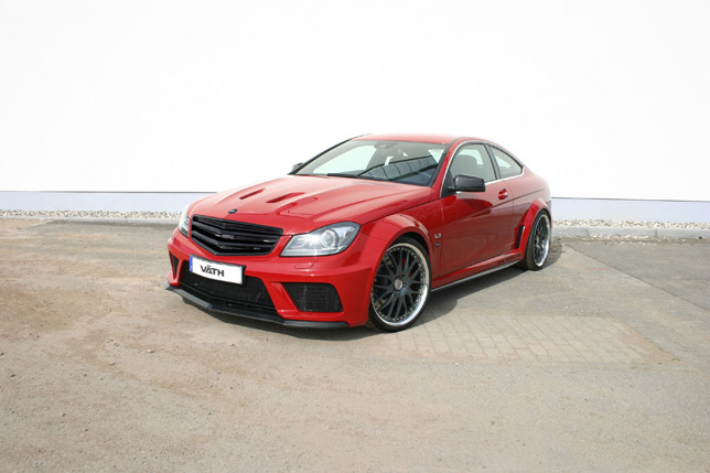 V63 VATH Supercharged Mercedes-Benz AMG Black