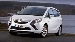 Vauxhall Zafira Tourer Tech Line in showrooms in September