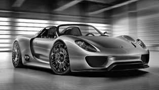 Porsche 918 Spyder concept debuts at Goodwood