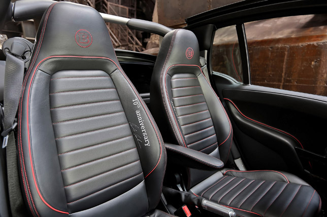 2012 Brabus Smart 10th Anniversary Special Edition Interior