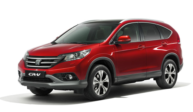 2012 Honda CR-V Facelift
