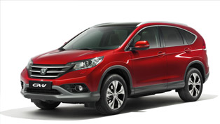 2012 Honda CR-V Facelift [VIDEO]