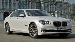 2013 BMW 7 Series Facelift [VIDEO]