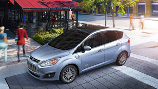2013 Ford C-MAX Energi Plug-In Hybrid Delivers 550-Mile Range [VIDEO]