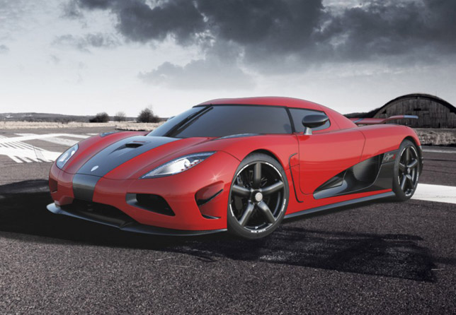 2013 Koenigsegg Agera R Under The Lights Of Drive Video