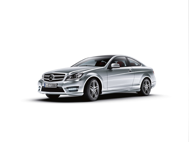 2013 c class coupe dimensions