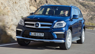 2013 Mercedes-Benz GL with market launch