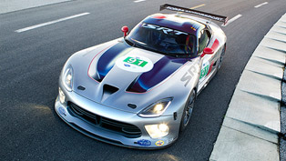 2013 dodge srt viper gts-r returns to american le mans series [video]