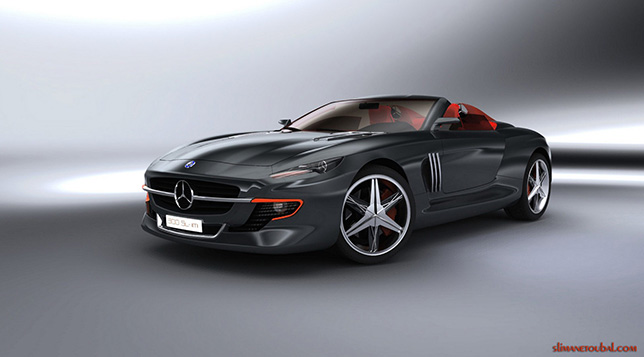 2015 Mercedes-Benz 300SL Roadster Concept by Slimane Toubal