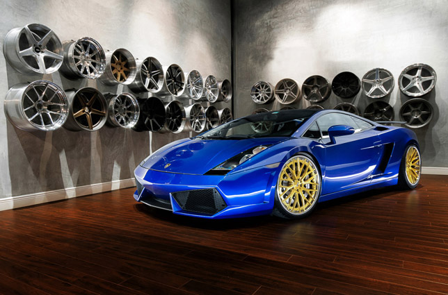ADV.1 Wheels Lamborghini Gallardo ADV10.0TS SL Gold Edition
