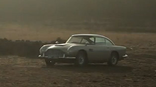 aston martin db5 featured in the new james bond film [video]