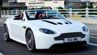 Global debut for Aston Martin V12 Vantage Roadster
