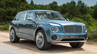 Bentley EXP 9 F Images and Video