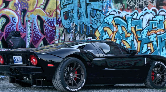 Ford GT with HRE Wheels