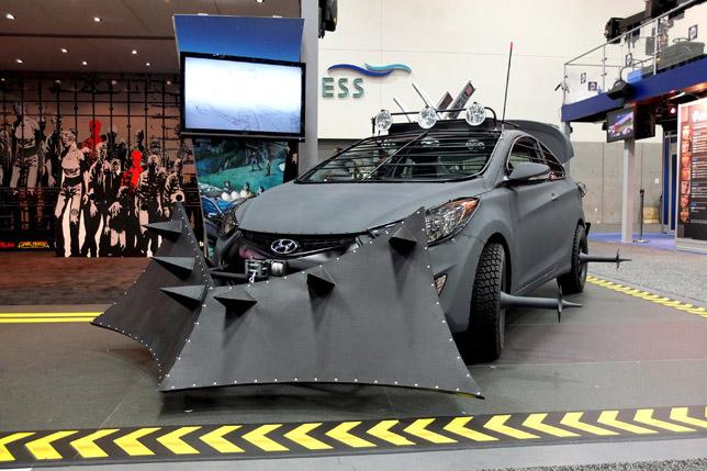Hyundai Elantra Zombie Survival