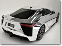 First Ever Chrome Lexus LFA debuts at MotorEx