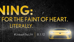 Unleash the LFA - Lexus [HD video]