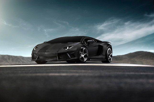 Mansory Carbonado Lamborghini Aventador Black-Diamond