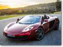 McLaren MP4-12C Spider revealed