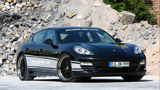 Mcchip-Dkr Porsche Panamera Diesel with power upgrade