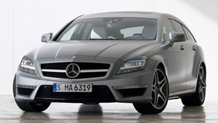 Mercedes-Benz CLS 63 AMG Shooting Brake combines practicality and elegance