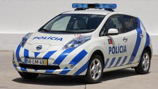 Nissan Leaf starts patrolling Portuguese streets