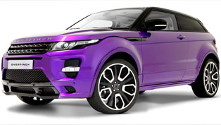 Range Rover Evoque GTS refined by Overfinch