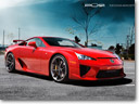 PUR Design Lexus LFA - the aggressive beauty
