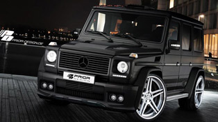 Mercedes G-Class refined Prior Design