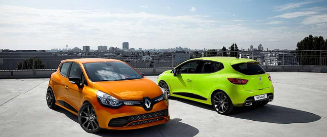 Renault Clio RS render