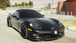 SR Chevrolet Corvette C6 Inspired Autosport Project M47