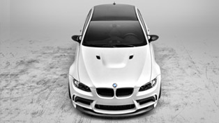 Vorsteiner BMW E9X M3 GTS5 with new Front Bumper