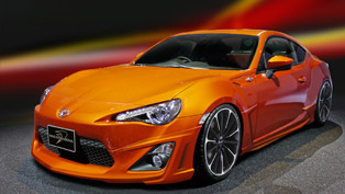 Wald International unveiled Toyota 86 ZN6 Sports Line