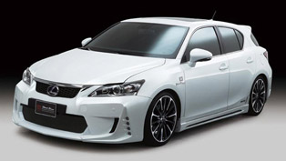 Lexus CT200h tuned by Wald International