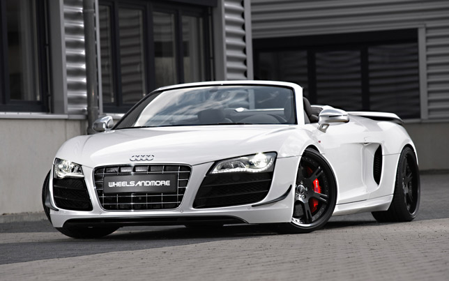 audi r8 spyder gt by wheelsandmore. Black Bedroom Furniture Sets. Home Design Ideas