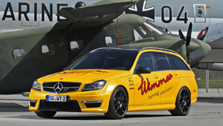 Wimmer Rennsporttechnik Mercedes-Benz C 63 AMG with 624 horsepower