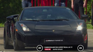 Lamborghini Gallardo UR Twin Turbo [HD video] - 1 mile Record
