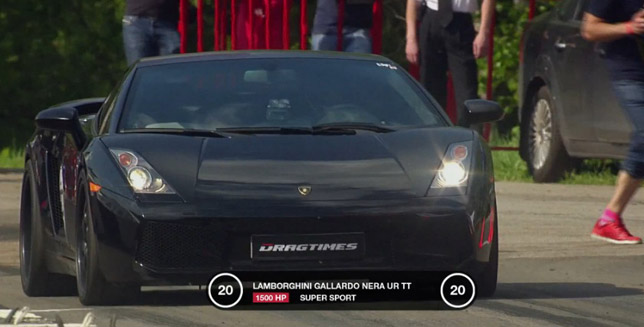 Lamborghini Gallardo Nera UR Twin-Turbo